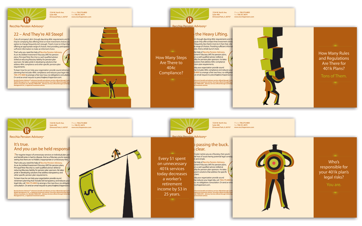 Recchia Postcard Campaign